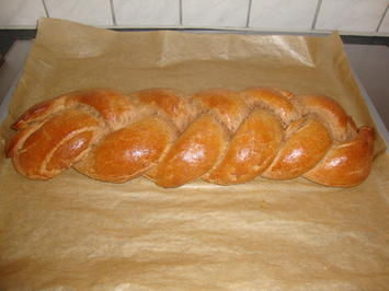 Süßer Hefezopf - Rezept - Bild Nr. 2