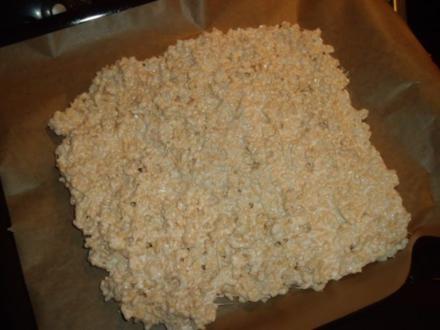 Rice-Krispies-Marshmallow-Riegel - Rezept