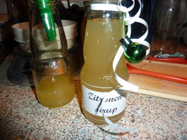Getränk: Zitronensirup - Rezept - Bild Nr. 7