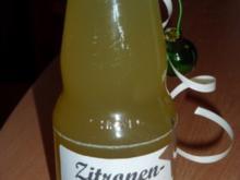 Getränk: Zitronensirup - Rezept