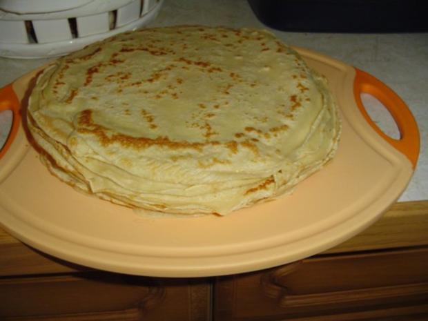 Grießnockerl und Pfannkuchensuppe - Rezept - Bild Nr. 7