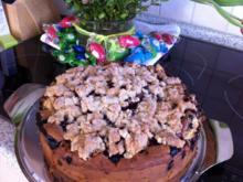 Streusel Beeren - Kuchen - Rezept