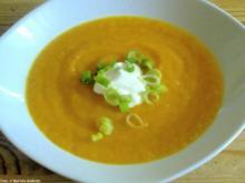 Cremige Orangen-Karotten-Suppe - Rezept