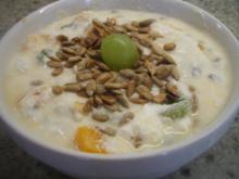 Vollkost: Frühstücksmüsli mal ohne Haferflocken - Rezept