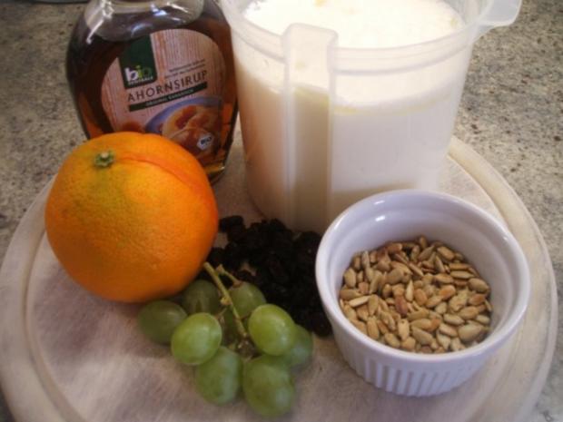 Vollkost: Frühstücksmüsli mal ohne Haferflocken - Rezept - Bild Nr. 2
