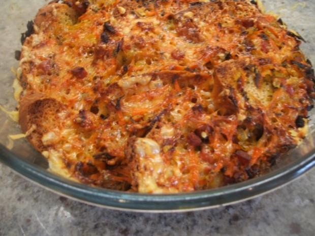 Auflauf: Brotauflauf mit Karotten - Rezept - Bild Nr. 7