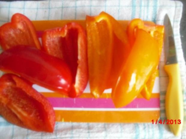 Paprika-Mango-Salat - Rezept - Bild Nr. 3