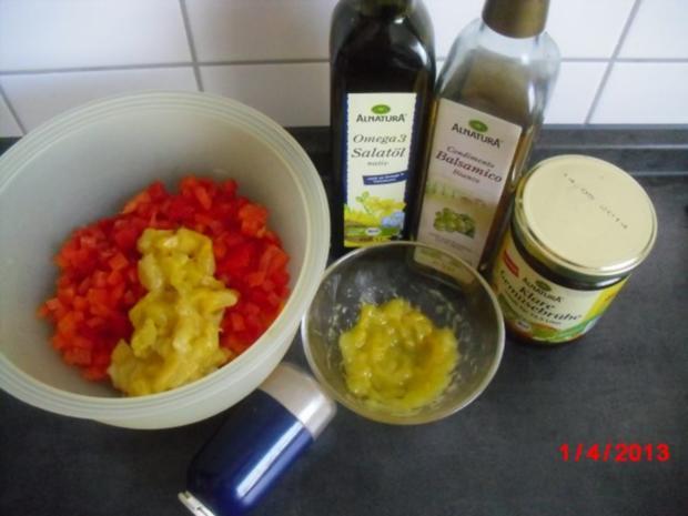 Paprika-Mango-Salat - Rezept - Bild Nr. 2