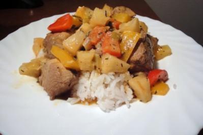 Rezept: Karibikpfanne