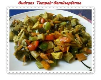 Vegetarisch: Tempeh-Gemüse-Pfanne - Rezept