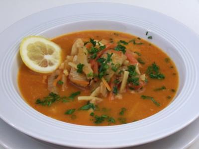 Suppe vom Skrei - Rezept