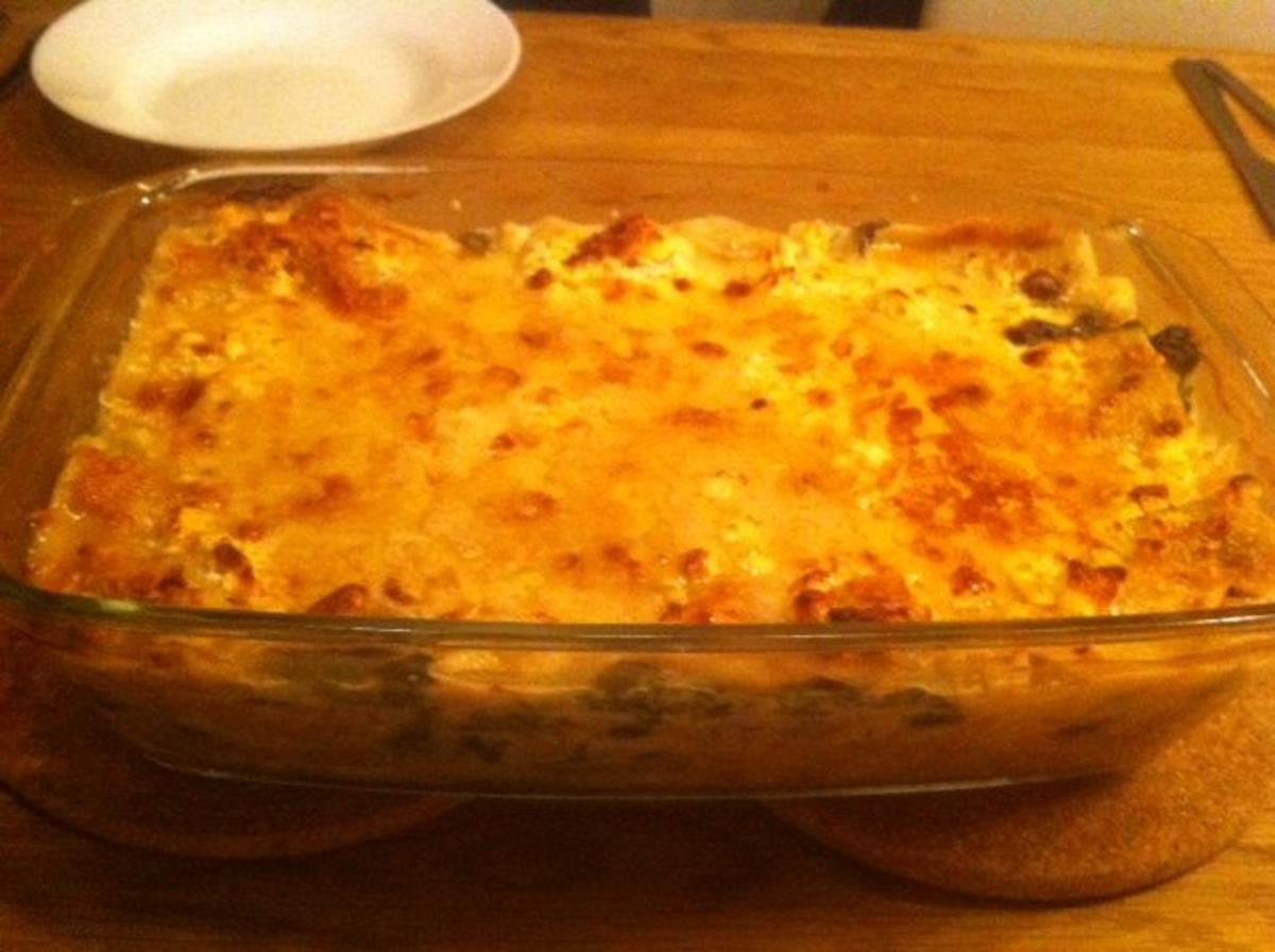 Lasagne mal anders :) - Rezept von Angi0_8