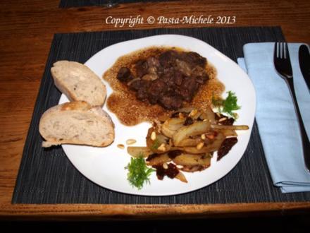 Spezzatino di manzo al pepe   (Rindsragout mit Pfeffer) - Rezept