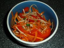 Sellerie - Möhren - Salat - Rezept
