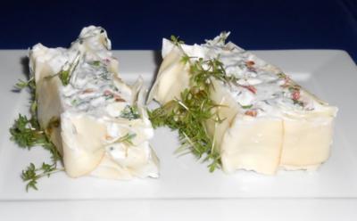 Terrine mit Frischkäse - Rezept