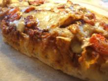 Pikantes Backen: Fladenpizza oder Pizzafladen - Rezept