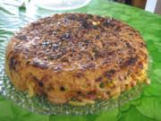 Teigwaren - Auflauf - Kuchen - Rezept
