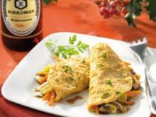 Bunte Mini-Omelettes - Rezept