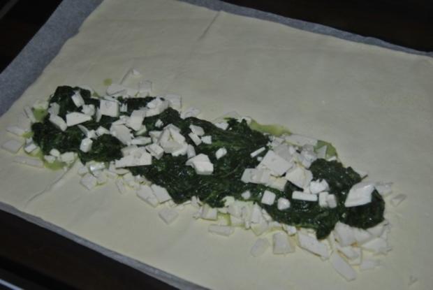 Blätterteigtaschen mit Spinatfüllung - Rezept - Bild Nr. 2