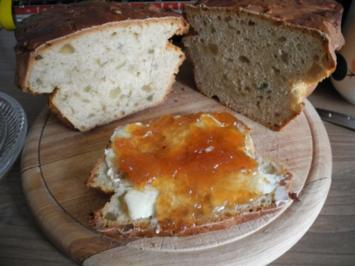 Brot & Brötchen : Bananen - Zitronat - Brot - Rezept