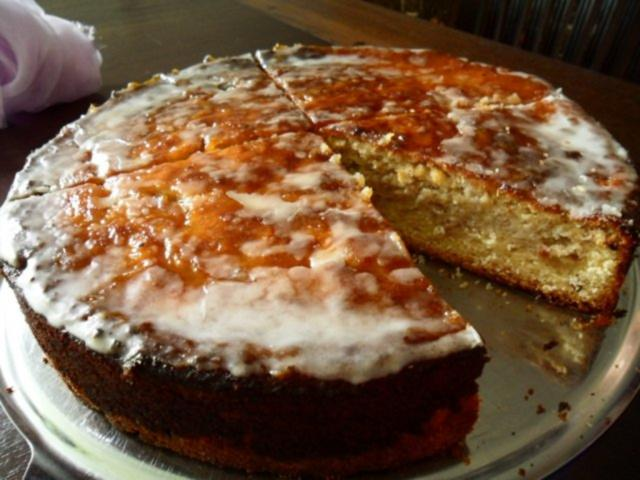 Apfel Marzipan Kuchen Rezept Mit Bild Kochbar De