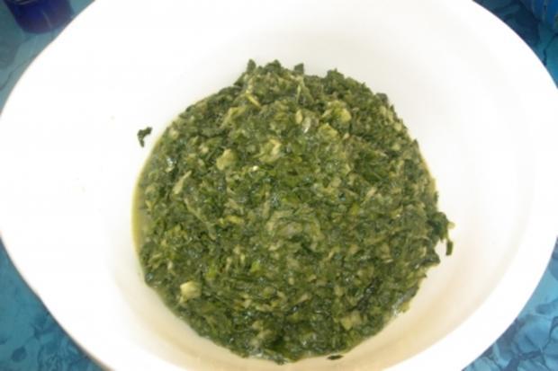 Teigtaschen, mit Spinat gefüllt - Rezept - Bild Nr. 4