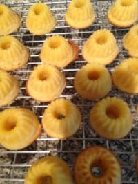 Mini-Gugelhöpfli-Äpfel-Mandelsplitter - Rezept