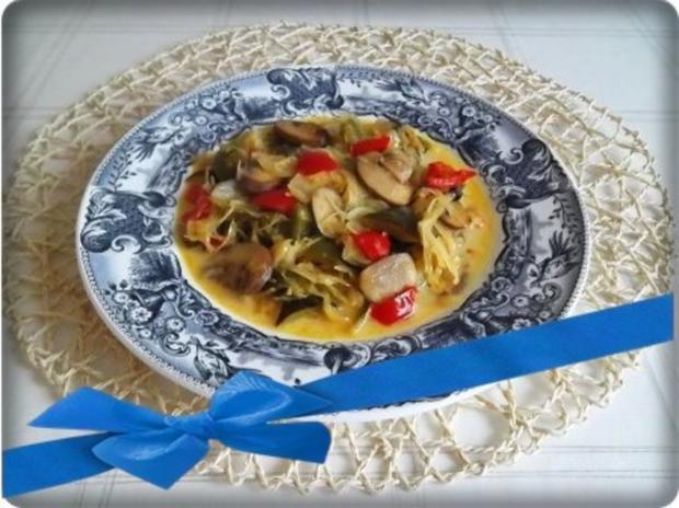 Würzige Gemüse Sauerkraut Pfanne - Rezept - Bild Nr. 22