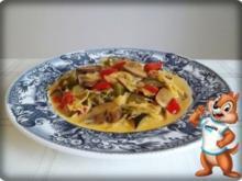 Würzige Gemüse Sauerkraut Pfanne - Rezept