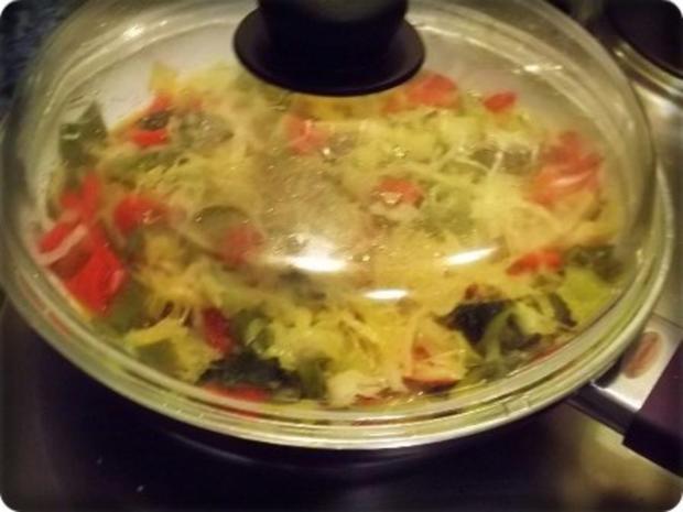 Würzige Gemüse Sauerkraut Pfanne - Rezept - Bild Nr. 13