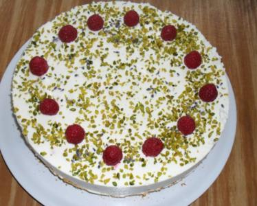 Himbeer - Lavendel - Torte - Rezept