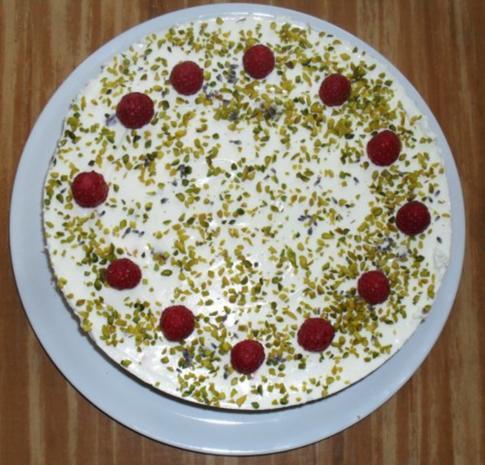 Himbeer - Lavendel - Torte - Rezept - Bild Nr. 2