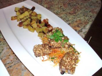 Thunfisch in Himbeer-Soja-Honig-Marinade - Rezept