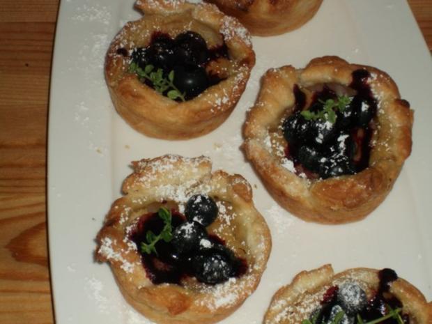 Vanille-Tarte - Rezept
