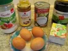Kuchen: Zimt - Orangen - Kuchen  ~~  ohne Fettzugabe - Rezept