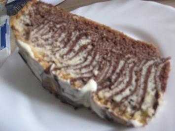 Zebra-Kuchen - Rezept