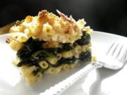 Maccheroni-Spinat-Auflauf - Rezept