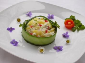 Rezept: Kartoffelsalat  ❀ Körbchen ❀