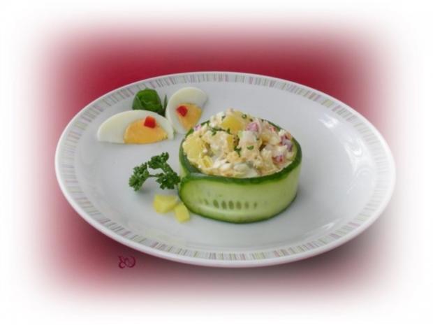 Kartoffelsalat  ❀ Körbchen ❀ - Rezept - Bild Nr. 3