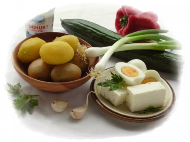 Kartoffelsalat  ❀ Körbchen ❀ - Rezept - Bild Nr. 4