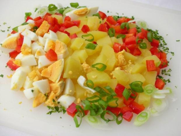 Kartoffelsalat  ❀ Körbchen ❀ - Rezept - Bild Nr. 5