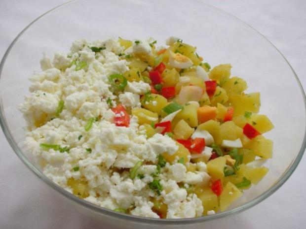 Kartoffelsalat  ❀ Körbchen ❀ - Rezept - Bild Nr. 7