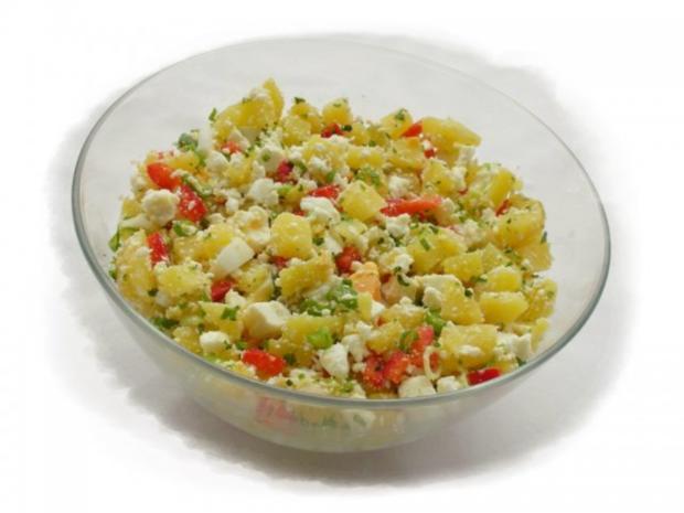Kartoffelsalat  ❀ Körbchen ❀ - Rezept - Bild Nr. 8
