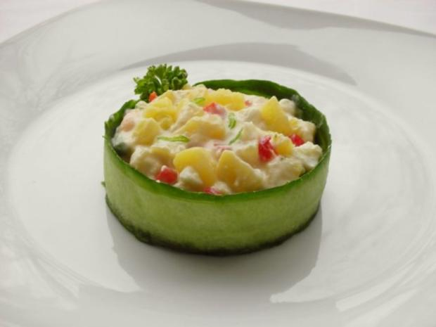 Kartoffelsalat  ❀ Körbchen ❀ - Rezept - Bild Nr. 11
