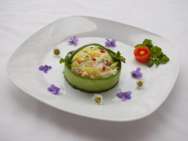 Kartoffelsalat  ❀ Körbchen ❀ - Rezept - Bild Nr. 12