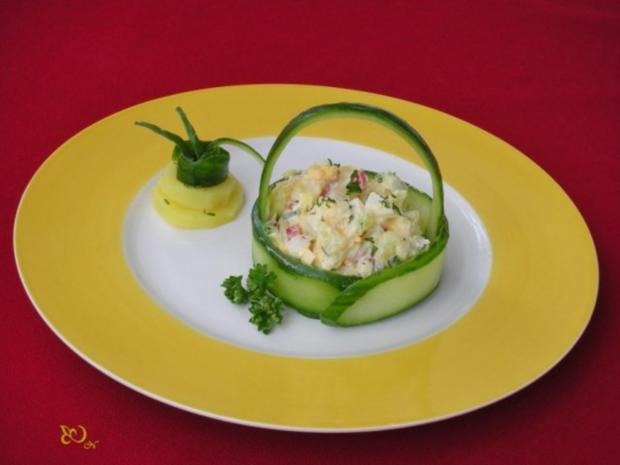 Kartoffelsalat  ❀ Körbchen ❀ - Rezept - Bild Nr. 13