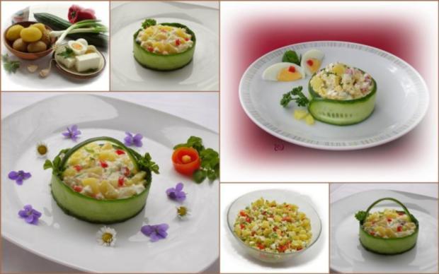 Kartoffelsalat  ❀ Körbchen ❀ - Rezept - Bild Nr. 14