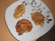 Pizzaschnecken aus Blätterteig - Rezept