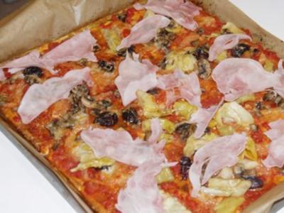 Knusprige Pizza - Low Carb - Rezept