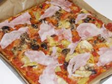 Knusprige Pizza - Low Carb - Rezept